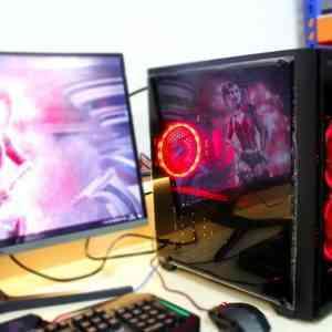 Игровой intel i7-8700 SSD + RX 480