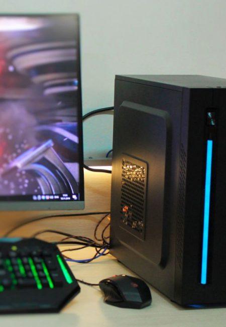 Игровой Ryzen 2600 SSD + AMD RX 470 4GB