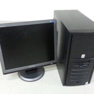 Комплект компьютер+монитор для дистанционной работы или обучения